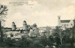 Apremont Vue Generale Circulee En 1906 - Frankreich