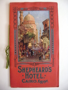 Egypt - CAIRO - SHEPHEARD'S HOTEL - Guide Ca 1910-1920 -  Booklet 20 Pages, Pictures - Publicidad