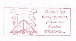 19 - FRANC-MAÇONNERIE (MASONIC) : E.M.Rouge Maçonnique 1990 : NOMBREUX SYMBOLES.tirage 100 Ex. - Francmasonería