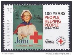 Australia 2014 Red Cross 100th Anniversary 70c MNH - Ongebruikt