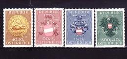 Österreich 1949, Kriegsgefallenen-Fürsorge, Satz - 1945-.... 2. Republik