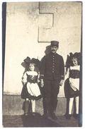 Cpa Carte-photo Alsace, Alsaciennes, Soldat Ou Douanier ?  ( 67 ) - France