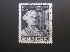 Italien Nr. 788 Gestempelt / Yvert 553 Used (C43) - 1946-.. République