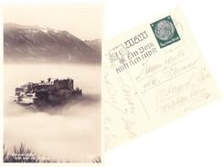 Salzburg 1939, Postkarte Mit Sonderstempel - 1918-1945 1. Republik