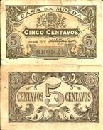 PORTUGAL - 5 CENTAVOS 1918 - Pick 99 TB+ (Fine) - Portugal
