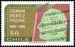 Chile 0543 ** MNH. 1980 - Chile
