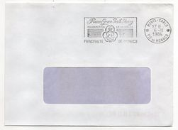 "MONACO--1984--Inauguration ""Princess Grace Irish Library"" ---cachet Monte-Carlo - Marcophilie"