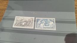 LOT 371666 TIMBRE DE FRANCE NEUF** N°497 A 498 VALEUR 14,35 EUROS - France