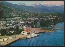 °°° 9231 - NORWAY - SAUDA - 1972 °°° - Norvegia