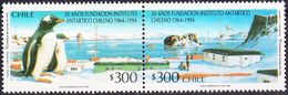 Chile 1206/1207 ** MNH. 1994 - Chile