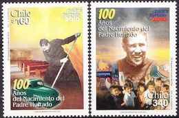 Chile 1578/1579 ** MNH. 2001 - Chile