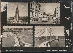 °°° 9232 - NORWAY - KRISTIANSAND - VIEWS - 1964 With Stamps °°° - Norvegia