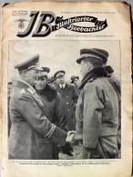 Illustrierter Beobachter 1937 Nr.4 Generaloberst Göring Dankt Italienischen Fliegeroffizieren - Deutsch