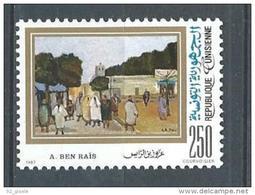 "Tunisie YT 1085 "" Tableau "" 1987 Neuf** - Tunisia"