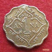 British India 1 Anna 1907 KM# 504 *V1  Inde Indie Indien - Inde
