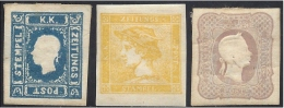 LOMBARDO VENETO 1850 TO 1864 SMALL LOT - Lombardo-Veneto