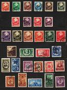 1952 - Full Year After Monetary Reform  Mi No 1370/1416 - Rumania
