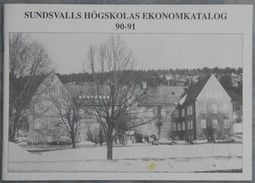 Sundsvalls Högskolas Ekonomkatalog 90-91 - Books, Magazines, Comics