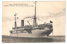 La Rochelle / La Pallice - Paquebot Thysville De La Cie Belge Maritime Du Congo - CMB - Compagnie Maritime Belge - La Rochelle