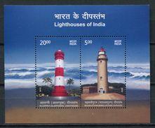 India 2012 / Lighthouses MNH Faros Leuchttürme / Cu5221  40-36 - Faros