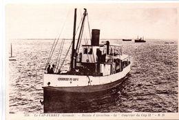 Gironde : Le Cap-Ferret : Le ''Courrier Du Cap II'' - Arcachon