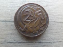 Australie  2  Cents  1966  Km 63 - Monnaie Décimale (1966-...)