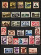 1954 - Full Year    Mi No 1463/1496 - Rumania