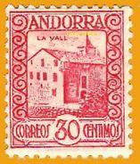 Andorra Andorre**LUXE 1935 Yt 36, Edi 36, Mi 36, Sn 31 - Spanisch Andorra