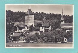 Old Postcard Of Spiez, Lake Thun,Berne, Switzerland.V20. - BE Berne