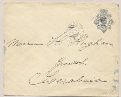 Nederlands Indië - 1916 - 10 Cent Envelop Van KB MENADO Naar KRAG-Machinestempel Soerabaja - Nederlands-Indië