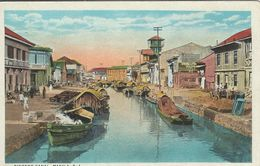 Philliphines  -  Binondo Canal. Manila.  S-3184 - Philippines