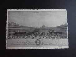 CPA 75 SERIE ANCIEN PARIS  39 - Les Galeries Et Jardin Du Palais Royal à La Fin Du XVIIIème Siècle  ND PHOTO - Lotti, Serie, Collezioni