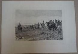 1806 - Napoléon à Cheval D'après Une Peinture De Meissonnier - Photogravure ; Ch. Soccard éditeur à Paris - Estampes & Gravures