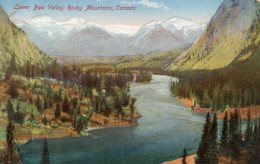 CPA    CANADA---BANFF---LOWER BOW VALLEY, ROCKY MOUNTAINS - Banff