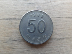 Koree  Du Sud  50  Won  1989  Km  34 - Korea, South