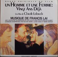 Francis Lai 33t. LP B.O. FILM *un Homme Et Une Femme:vingt Ans Déjà* - Soundtracks, Film Music