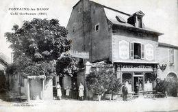 Cote D'Or - FONTAINE Les DIJON - Café Gerbeaux 1915 - P40b - Other Municipalities