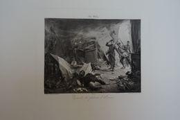 Episode Du Plateau D'Avron D'après Une Peinture De Géo WEISS - Photogravure ; Société D'édition Artistique à Paris - Estampes & Gravures