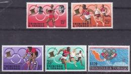 Trinté Et Tobago Jeux Olympique De Mexico1968 Timbres Y&T N°  MNH ** - Summer 1968: Mexico City