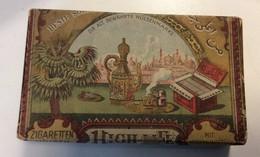 EMPTY  TOBACCO  RUSSIA   HIGH  LIFE   RARE!!!!!!!!!!!!!!!!!    13,5 X 8 Cm - Schnupftabakdosen (leer)