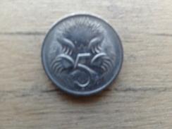 Australie  5  Cents   1982  Km  64 - Monnaie Décimale (1966-...)