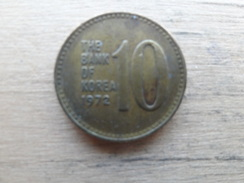Koree Du Sud  10 Won  1972  Km 6 - Korea, South