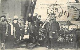 - Charente Maritime -ref-G472- La Rochelle - La Pallice - Arrivee Des Refugies Belges - Guerre 1914-18 - Belgique -etat - La Rochelle