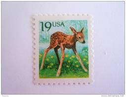 USA 1991 Ree Faon Bambi Yv 1931 Mi2122 MNH ** - Etats-Unis