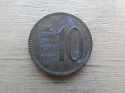 Koree Du Sud  10 Won  1980  Km 6 - Korea, South