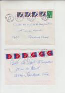 Lot De 11 Lettres  De 1978 Et 1979 Pour BORDEAUX Affranchies Avec 3-4-5-6-10 Timbres PAIRES-TRIPLES-BLOCS.... - France