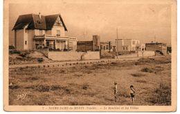 85. Notre Dame Des Monts. Le Remblai Et Les Villas - Autres Communes