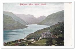 Noorwegen, Breifond Hotel, Harre, Röldal - Noorwegen