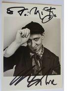 Chanteur - Charlelie COUTURE - Signé / Hand Signed / Dédicace Authentique / Autographe - Chanteurs & Musiciens
