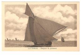 Littoral (Belge) - België - Barques De Pêcheurs / Vissers - Fischerei